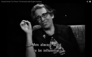 Hannah Arendt su uomini